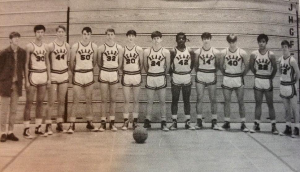 Juneau Douglas Crimson Bears basketball team 1969 - 1970